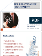 CUSTOMER RELATIONSHIP MANAGEMENT (3)