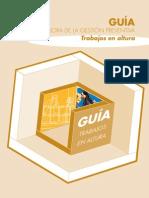 GUIA DE SEGURIDAD TRABAJOS EN ALTURA