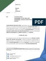 Acción de Tutela -Contra Auto Del 6 de Noviembre- AUV