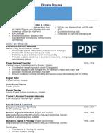 resume rrc oksana dzyuba 2020 for weebly