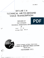 Skylab 1/4 Technical Air-To-Ground Voice Transcription Vol 5 of 7