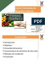 creciente demanda de alimentos inocuos ult actualizado