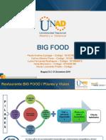 presentacion BIG FOOD