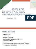 FERRAMENTAS DE HEALTH COACHING