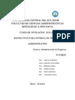 Instructivo de trabajos 2018-2018