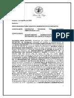 01  MEMORIAL ENVIO PREVIO CONCILIACION DADEP PROFORMA CONTEXTUS