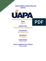 Tarea 1 Teoria y Estructura Organizacional JU