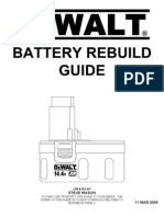 DeWalt 14.4v Battery Rebuild Guide