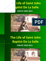 Life's  Story of Saint John Baptist De La Salle