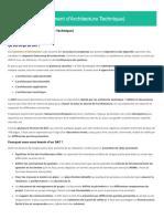 DAT (Document d'Architecture Technique) - Glossaire Syloé - Expert Linux, Devops & Cloud
