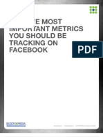 Top Five Metrics on Facebook