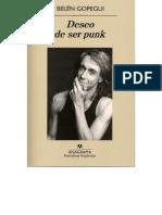 Deseo de ser punk - Belén Gopegui