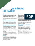 Aspectos basicos de Twiter