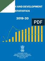 Research and Development Statistics 2019-20