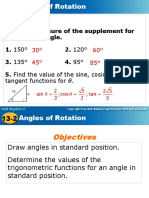 13.2 Angles of Rotation