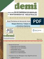 ÁREAS PRIORITARIAS DE INTERVENCIÓN FRENTE A LOS RIESGOS