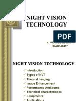Night Vision Tech Ppt Pramod