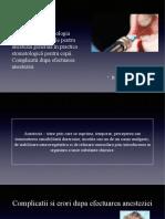 Anestezia in Stomatologia Pediatrica. Indicatii pentru anestezia generala