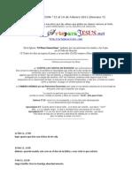 RED DE ORACION - Peticiones del 2011 (ArteparaJESUS - ArteparaCRISTO) -