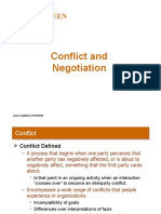 Conflict and Negotiation -Prince Dudhatra-9724949948