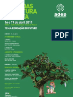Jornadas ADEP 2011 - Cartaz