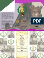 1_triptico viii centenario de la investidura como caballero del rey fernando iii