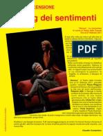 """Recensione della commedia """"Honour"""" con Paola Pitagora  al Teatro della Cometa"""