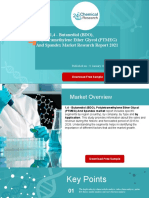 Global 1,4 - Butanediol (BDO), Polytetramethylene Ether Glycol (PTMEG) and Spandex Market Research Report 2021