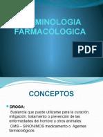 TERMINOLOGIA FARMACOLOGICA