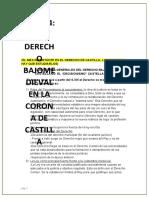 HISTORIA DEL DERECHO. TEMA 4