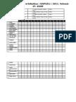 A börtönrajzok értékelési táblázata