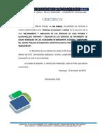 CERTIFICADO TRABADORES BUENAVISTA
