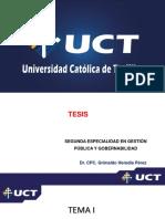 UNIDAD I - FUNDAMENTOS DE LA METODOLOGÍA DE LA INVESTIGACIÓN,  LA IDEA Y EL TEMA DE INVESTIGACIÓN 1