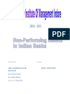case study on npa in banks Similar to A LITERATURE REVIEW ON NON PERFORMING ASSETS OF CO OPERATIVE BANKS IN INDIA