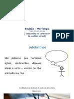 Revisão I - Substantivos