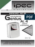 Alarme IPEC Genius AL4