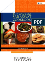 The Konkani Saraswat Cookbook - A Glimpse