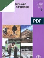 Relaciones Tierra Agua en Cuencas Hidrograficas Rurales FAO
