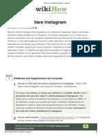 4 Modi per Contattare Instagram - wikiHow