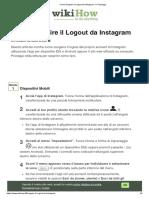 Come Eseguire il Logout da Instagram_ 11 Passaggi