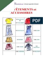 FLE - Vêtements et accessoires