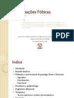 Psicopatologia Perturbações Fóbicas - slides