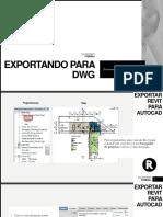 Exportando DWG