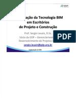 Implantação da Tecnologia BIM