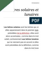 Lettres solaires et lunaires - Connaissance.pdf