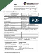 Arrival Form - Merrimac SHS