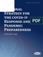 National Strategy for the COVID 19 Response and Pandemic Preparedness Press