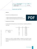 Actividad 1 Resolución de PVIs