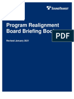 Sound Transit - Realignment Board Briefing Book - January 2021