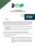 taiwan scholarship